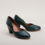 Marilyn 1940s Pumps (Green)