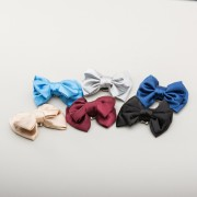 PRE-ORDER Double Satin Bow Shoe Clips