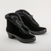 Alpen Retro Winter Booties  (Black)