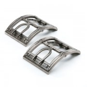 """Cavendish"" 18th Century Shoe Buckles (Silver)"