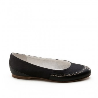 "IMPERFECT ""Dashwood"" Regency Slippers (Black)"
