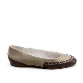 """""""Dashwood"""" Regency Slippers (Tan/Brown)(1800-1820)"""