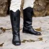 "PRE-ORDER ""Hessian"" Men's Georgian Boots (Black) (1790 - 1830)"