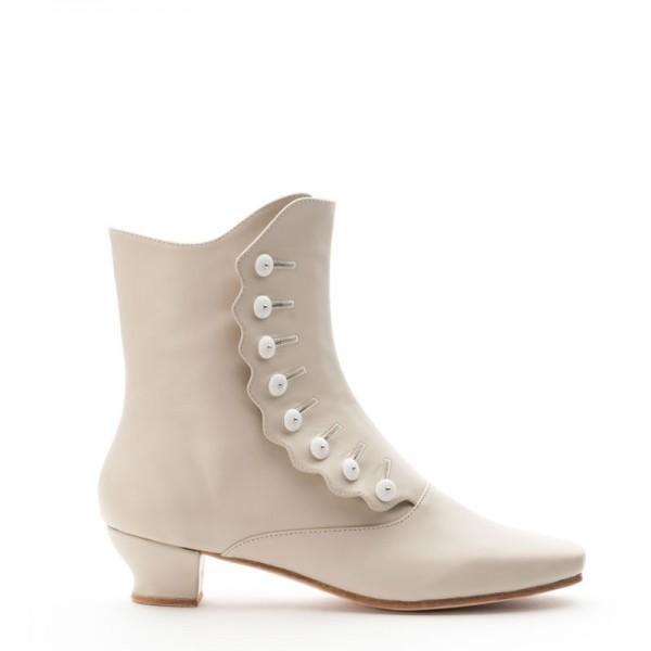 Ladies Victorian Boots Shoes Granny Renoir