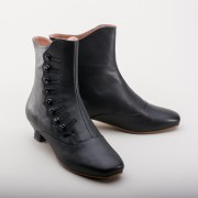 "PRE-ORDER ""Renoir"" Civil War Button Boots (Black)(1850-1880s)"