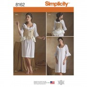 Simplicity 8162 18th Century Underpinnings Sewing Pattern