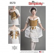 Simplicity 8579 18th Century Underpinnings Sewing Pattern