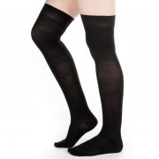 Silk Stockings (Black, Plain)