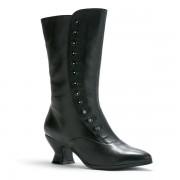 """Tavistock"" Victorian Button Boots (Black)"
