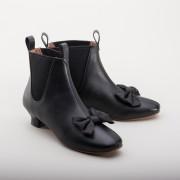 Vienna Victorian Congress Boots (Black)(1850-1880s)